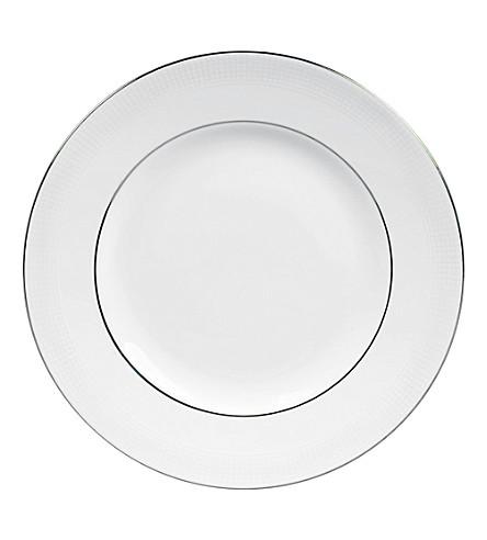 VERA WANG @ WEDGWOOD Blanc sur Blanc plate 20cm