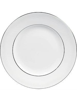 VERA WANG @ WEDGWOOD Blanc sur Blanc plate 15cm