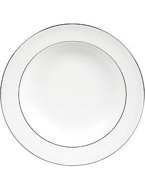 VERA WANG @ WEDGWOOD Grosgrain soup plate