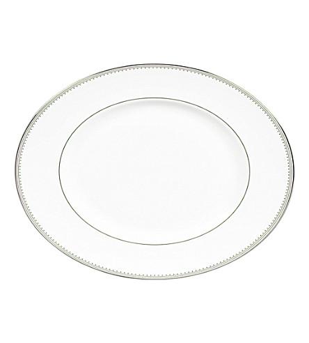 VERA WANG @ WEDGWOOD Grosgrain oval dish 36cm