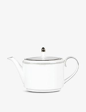 VERA WANG @ WEDGWOOD Grosgrain teapot