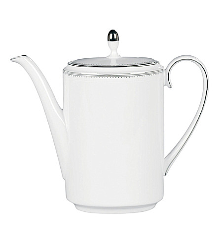 WEDGWOOD Grosgrain coffee pot