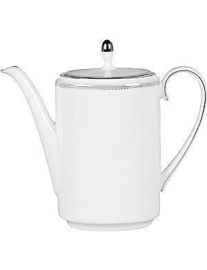 WEDGWOOD Grosgrain coffee pot