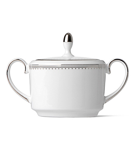 VERA WANG @ WEDGWOOD Grosgrain sugar box