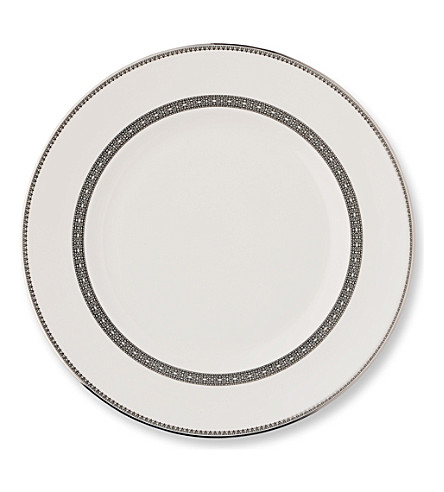 VERA WANG @ WEDGWOOD Lace Platinum plate 27cm