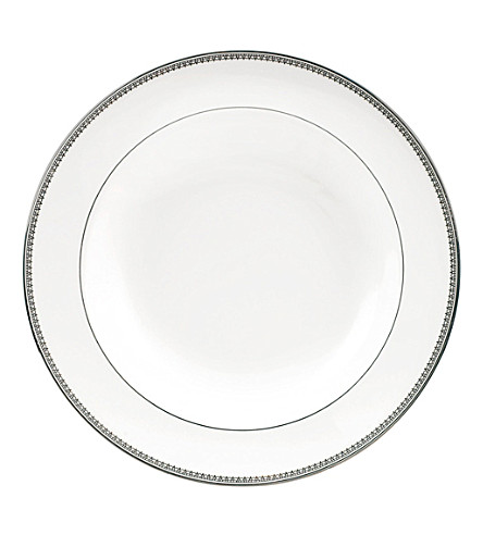 VERA WANG @ WEDGWOOD Lace Platinum soup plate