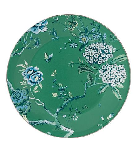 JASPER CONRAN @ WEDGWOOD Chinoiserie green plate 27cm