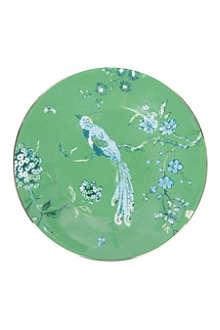 JASPER CONRAN @ WEDGWOOD Chinoiserie plate green 18cm