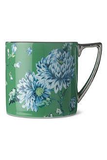 WEDGWOOD Chinoiserie green mini mug