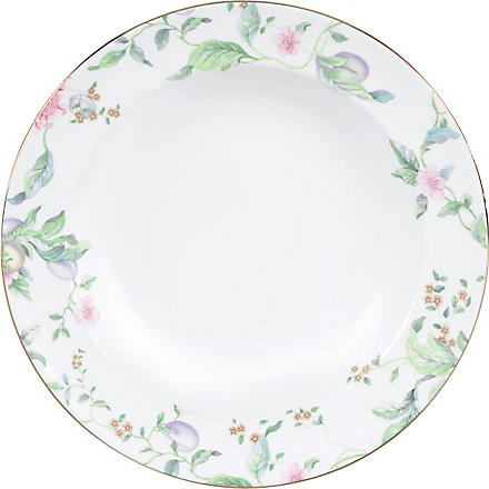 WEDGWOOD Sweet Plum soup plate