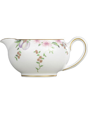 WEDGWOOD Sweet Plum large cream jug