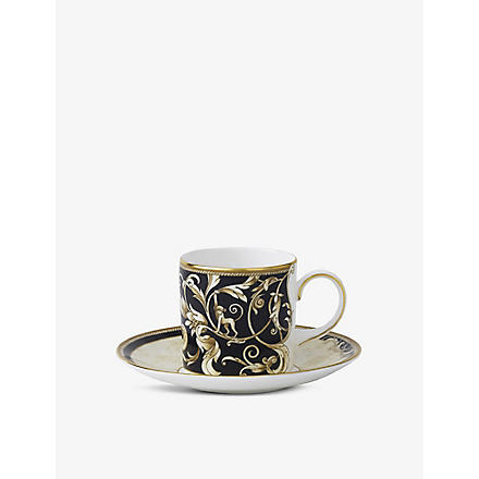 WEDGWOOD Cornucopia Bond coffee cup