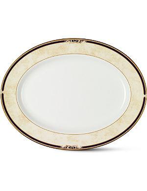 WEDGWOOD Cornucopia large oval dish