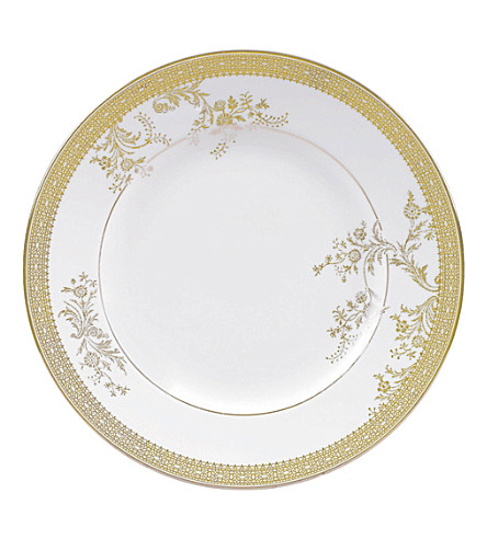 VERA WANG @ WEDGWOOD Lace Gold plate 20cm