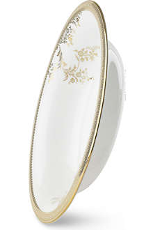VERA WANG @ WEDGWOOD Lace Gold open vegetable dish