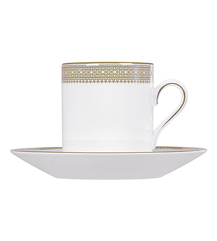 VERA WANG @ WEDGWOOD Lace Gold bond coffee cup