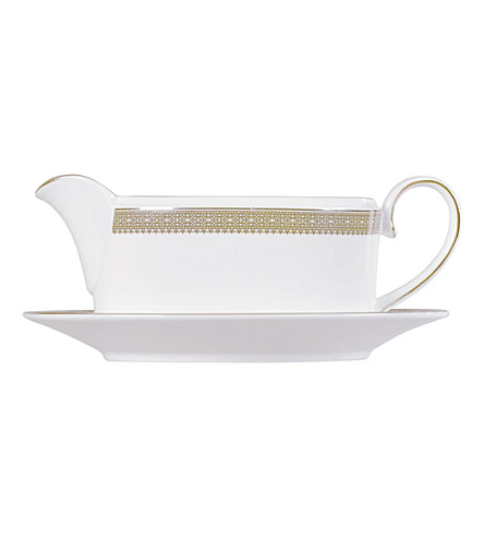 VERA WANG @ WEDGWOOD Lace Gold sauce boat stand