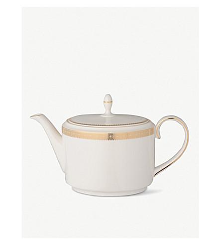 VERA WANG @ WEDGWOOD Lace Gold teapot
