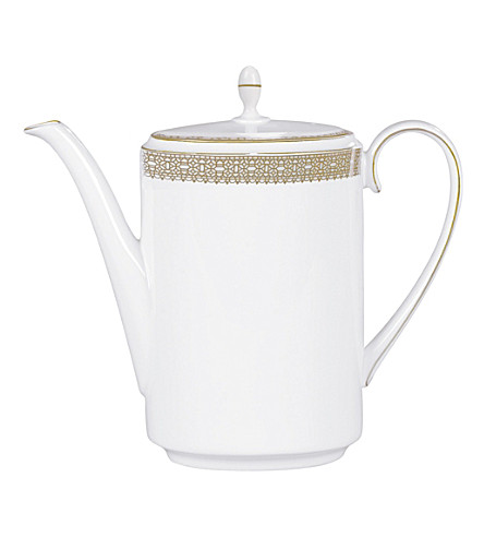 VERA WANG @ WEDGWOOD Lace Gold coffee pot