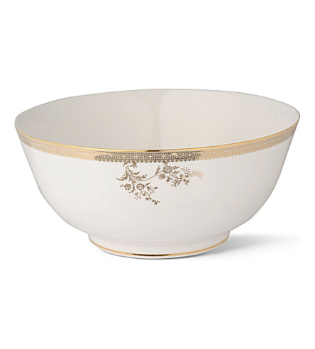 VERA WANG @ WEDGWOOD Lace Gold bowl 25cm