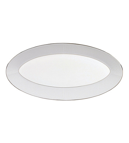 JASPER CONRAN @ WEDGWOOD Oval platter 39cm