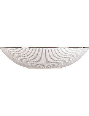 JASPER CONRAN @ WEDGWOOD Pinstripe cereal bowl 18cm