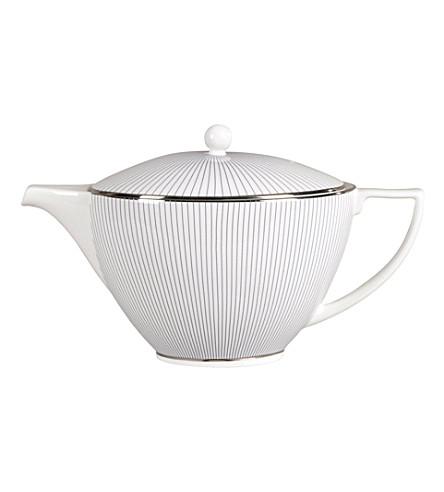 JASPER CONRAN @ WEDGWOOD Pinstripe teapot