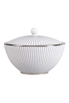 JASPER CONRAN @ WEDGWOOD Pinstripe sugar bowl