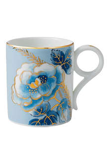 WEDGWOOD Archive Collection Blue Peony mug