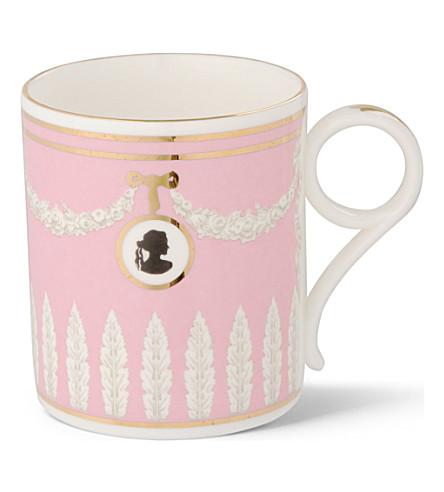 WEDGWOOD Archive pink cameo mug