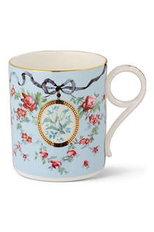 WEDGWOOD Archive ribbon and wild rose mug