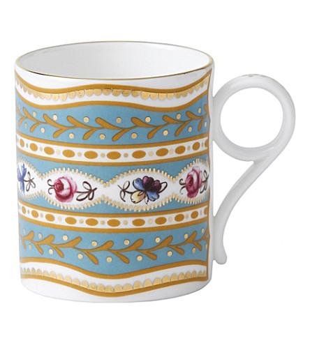 WEDGWOOD Archive floral brocade mug