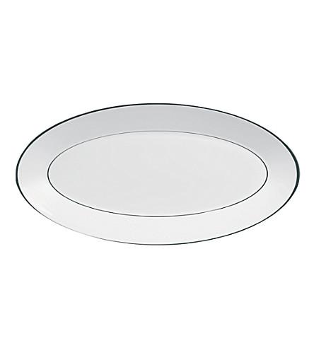 JASPER CONRAN @ WEDGWOOD Platinum small oval dish