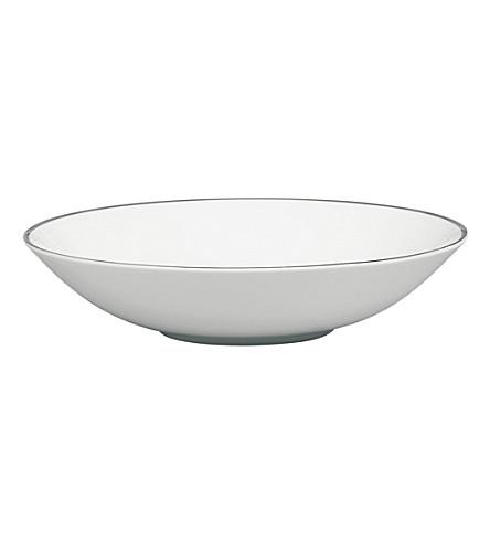 JASPER CONRAN @ WEDGWOOD Platinum bowl 18cm