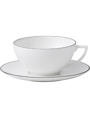 WEDGWOOD Platinum small tea saucer
