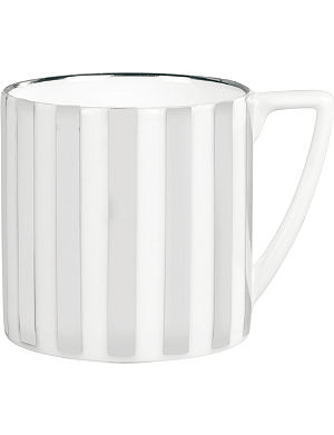 JASPER CONRAN @ WEDGWOOD Platinum Striped mini mug