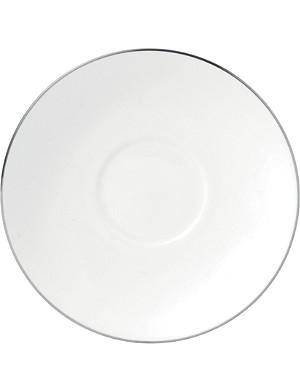 WEDGWOOD Signet Platinum tea saucer