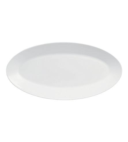 JASPER CONRAN @ WEDGWOOD White small oval platter