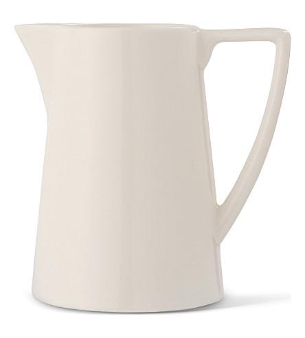 JASPER CONRAN @ WEDGWOOD White cream jug