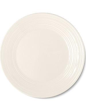 JASPER CONRAN @ WEDGWOOD White embossed plate 27cm