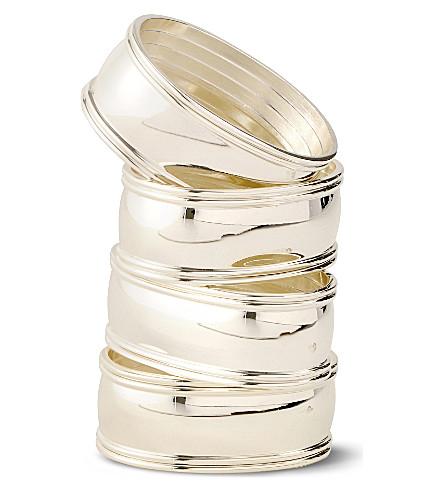 WEDGWOOD Windsor napkin rings