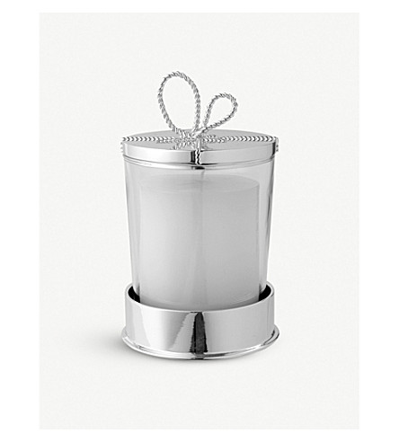 VERA WANG @ WEDGWOOD Love Knots covered candle