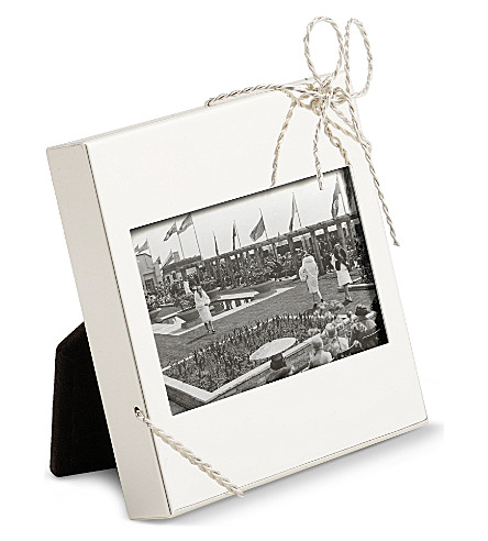 VERA WANG @ WEDGWOOD - Love Knots mini picture frame | Selfridges.com