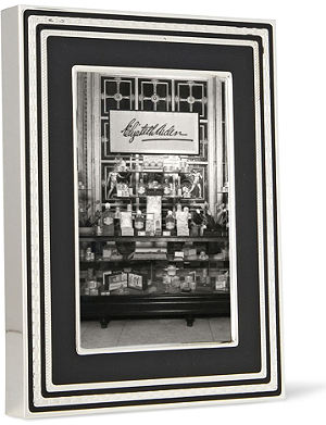 VERA WANG @ WEDGWOOD With Love Noir picture frame 4x6