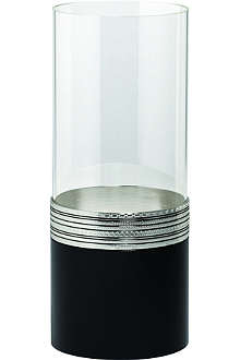 VERA WANG @ WEDGWOOD With Love Noir hurricane candle holder