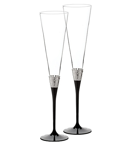 VERA WANG @ WEDGWOOD With Love set of toasting flutes