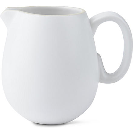 VERA WANG @ WEDGWOOD Naturals chalk small jug (Chalk