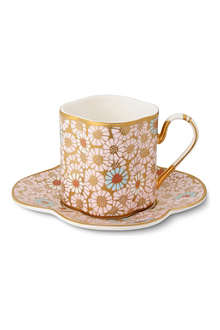 WEDGWOOD Harlequin Collection Daisy teacup and saucer