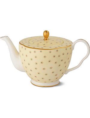 WEDGWOOD Polka Dot Tea Story teapot