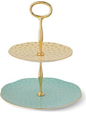 WEDGWOOD Polka Dot Tea Story cake stand
